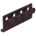 Int. Sliding Door ConnectingAdapter, Oil Rubbed Bronze