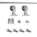 Interior Door Track & HardwareKit, Stainless Steel, 72""