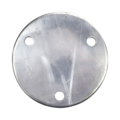 "Aluminum Base Plate 4-3/4"" RND7/16"" holes, 1/4"" Thick"