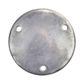 "Aluminum Base Plate 6-3/4"" RND9/16"" Holes, 1/2"" Thick"
