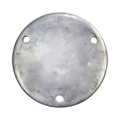 "Aluminum Base Plate 7-3/4"" RND9/16"" Holes, 1/2"" Thick"