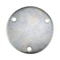 "Galvanized Base Plate 6-3/4"" RND 9/16"" holes , 1/2"" Thick"