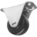 "Genral Duty Metal Rigid Caster.  2"" Wheel Diameter."