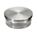 "Meridian SS316 Flush End Cap for 2""(50.8mm) Tube Satin"