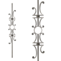 "[U3] Forged Steel Baluster 45 1/4"" H"