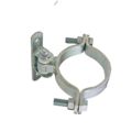 "Realed Roller Hinge 6"" Round Bolt-On"