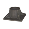 "Cast Iron Shoe, Fits 1.9"" OD Tube"