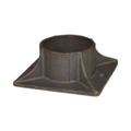 "Cast Iron Shoe, Fits 2.875"" OD Tube"