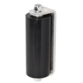 "Non-Marring Guide Roller, 5-13/16"",w/Aluminum Brkt,Black"