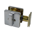 Cal SC Deadbolt Satin Chrome
