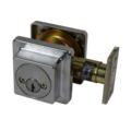 Cal DC Deadbolt Satin Chrome