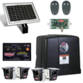 Silde Solar AC charged w/LCR/solar panel/2photo eyes