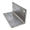 "8"" 90 Degree Steel Base Mounting Bracket H-4"" W-7-7/8"""