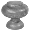 "Cast Iron Finial,1-1/2"" SolidRound Base"
