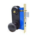 Mortise Lockset Lever, DC, OilRubbed Bronze, Left