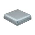 "Presssed Steel Post Cap. Fits1-1/2"" Square. Flat Top"
