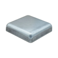 "Pressed Steel Post Cap. Fits 2"" Square. Flat Top"