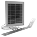 Solar Panel 10 Watts 12v D/CNo Bracket