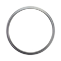 "[AT] Steel Tubing Ring. 10"" Diameter."