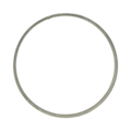 "[AA] Steel Flat Bar Ring. 10"" Diameter"