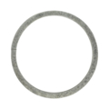 "[AA] Steel Flat Bar Ring. 3-15/16"" Diameter"