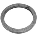 "[A] Forged Steel Ring, Solid Square Bar. 3-15/16"" Diameter."