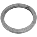 "[A] Forged Steel Ring, Solid Square Bar. 5-1/2"" Diameter."