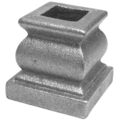 "Cast Iron Baluster Collar. Fits 1/2"" Square"