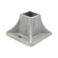 "Cast Iron Shoe, Flanged Fits 1"" Square."