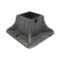 "Cast Iron Shoe. Flanged, Fits 1-1/2"" Square."