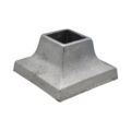 "Cast Iron Shoe Cover. Fits 1-1/4"" Square"