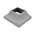 "Cast Iron Shoe Cover. Fits 2"" Square."