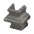"Cast Iron Half Knuckle Collar.Overlays 3/4"" Square"
