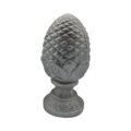 "Cast Iron Pineapple Solid 4""Round Base"