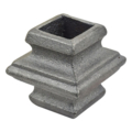 "Cast Iron Collar. Fits 3/4"" Square, 1-3/4"" H"