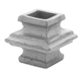 "Cast Iron Baluster Collar. Fits 5/8"" Square, 2"" H"