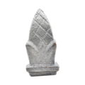 "Cast Iron Spear ""Pineapple"" Fits 1/2"" Square"
