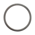 "Cast Iron Beveled Ring. 10"" Diameter."