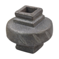 "Cast Iron Baluster Collar Fits1/2"" Square"