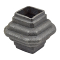 "Cast Iron Collar. Fits 3/4"" Square, 1-7/8"" H"