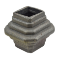 "Cast Iron Collar. Fits 1"" Square, 2-1/2"" H"