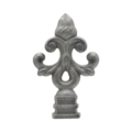 "Cast Iron Finial ""Acorn"" Fit Over 5/8"" Square"