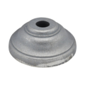 "Cast Iron Base. 1-3/4"" Height, Fits 3/4"" Round."