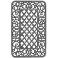 "Cast Iron Panel,Morning Glory.15-1/2"" W, 25"" H"