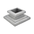 "Cast Iron Flanged Shoe, Fits 1"" Square"