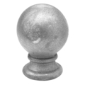 "Cast Iron Spear ""Round Ball"" Fit 5/8"" Round"