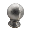 "Cast Iron Spear ""Round Ball"" Fit 3/4"" Round"
