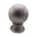 "Cast Iron Spear,Post Ball,Fits1-1/2"" Round"