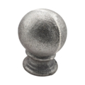 "Cast Iron Finial, Post Ball, Solid 1-3/4"" Round"