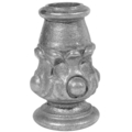 "Cast Iron Base Collar. Fits 3/4"" Round, 3-1/8"" H"